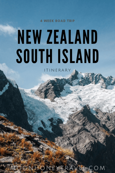 New Zealand South Island Road Trip Itinerary