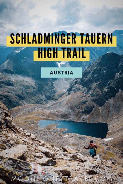 Schladminger Tauern High Trail, Austrian Alps, Hut to Hut Hike in Austria