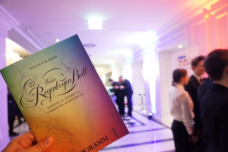 Vienna Rainbow Ball - Wiener Regebogenball Program - The most elegant LGBTQ event in Austria