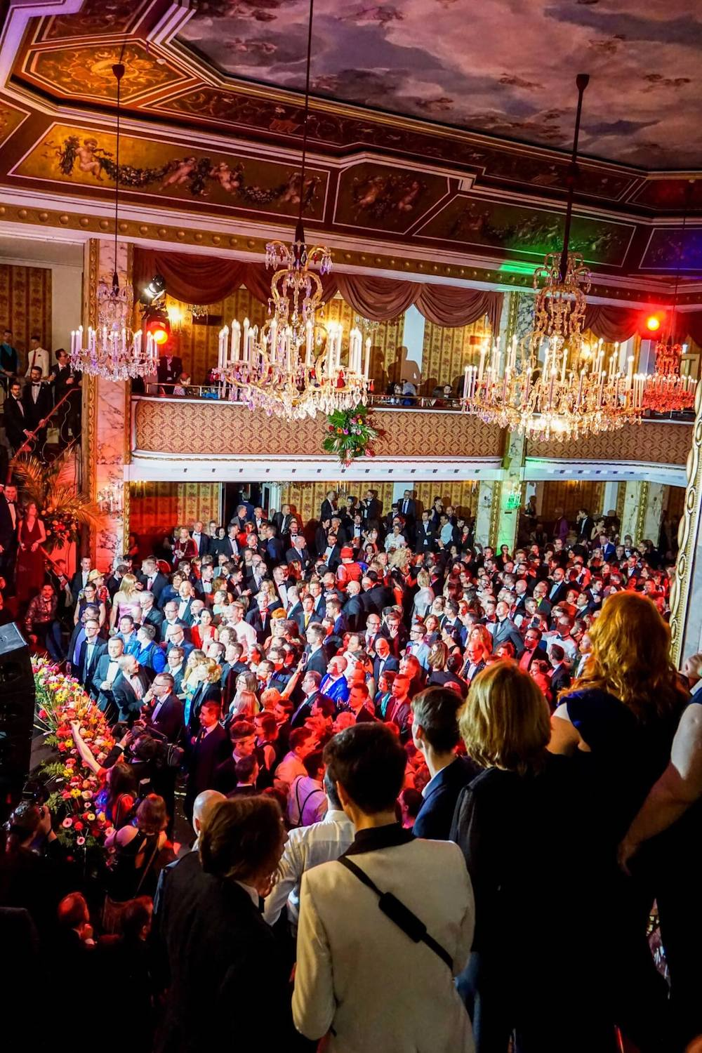 Opening Ceremony of the Vienna Rainbow Ball (Wiener Regenbogenball) - Austria