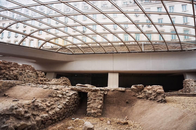 Bulgaria Travel Guide - Sofia Roman Ruins