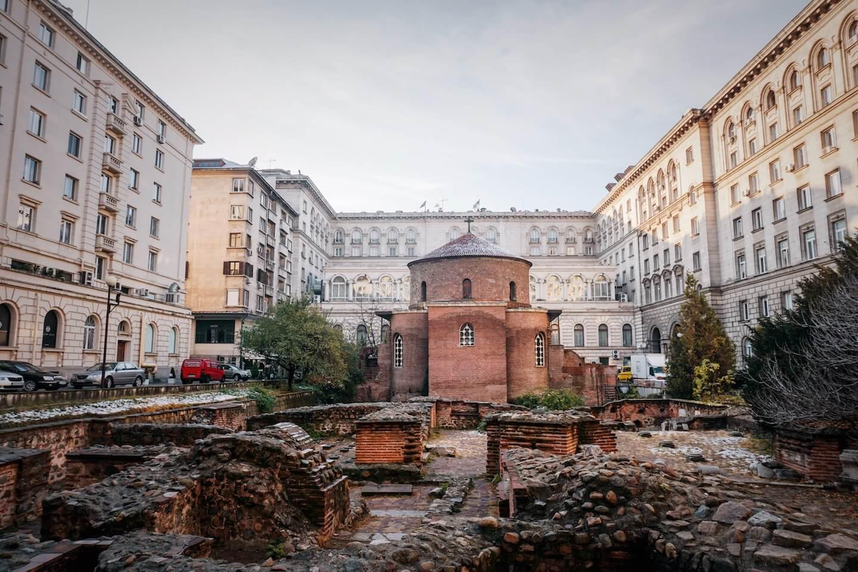 Bulgaria Travel Guide - Sofia Saint George Rotunda