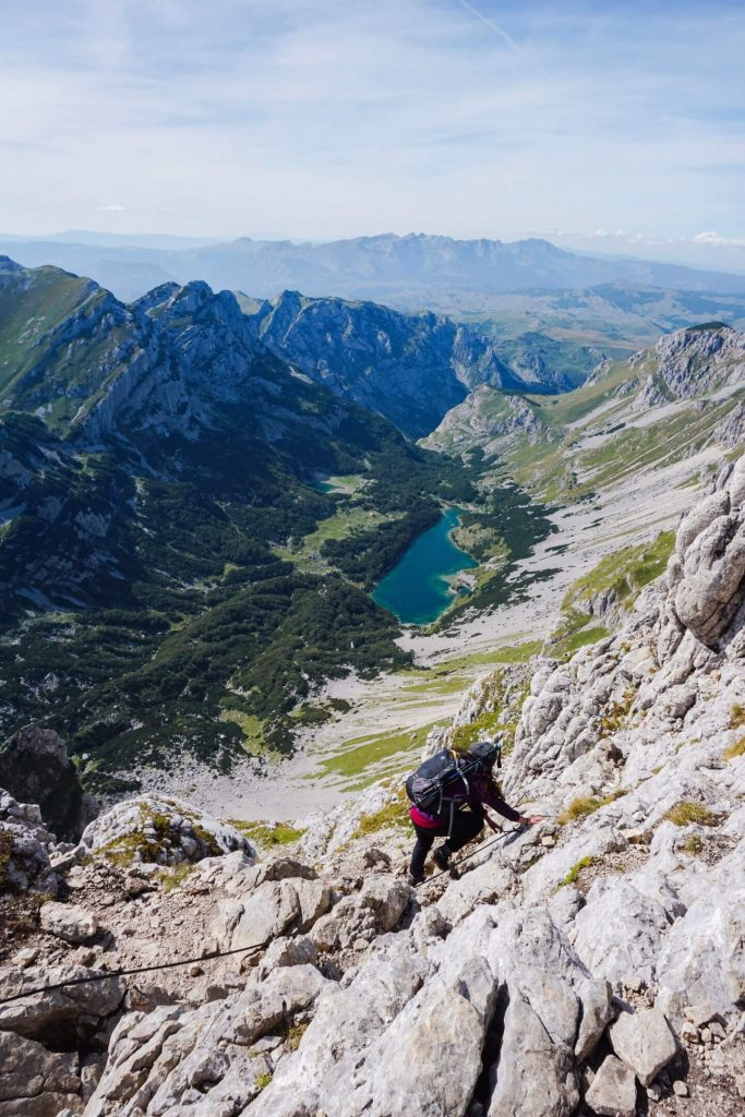 Veliko Škrčko jezero, Bobotov Kuv Hike, best hiking trails in Durmitor National Park