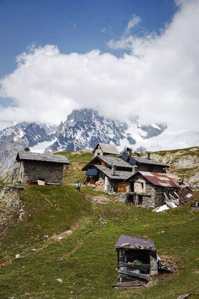 Rifugio Giorgio Bertone, Courmayeur, Aosta Valley, Italy