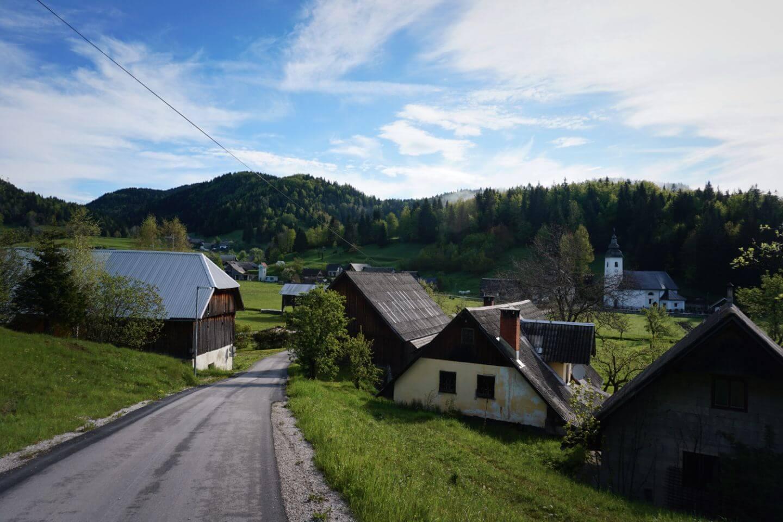 Koprivnik v Bohinju Hamlet, Pokljuka, Slovenia