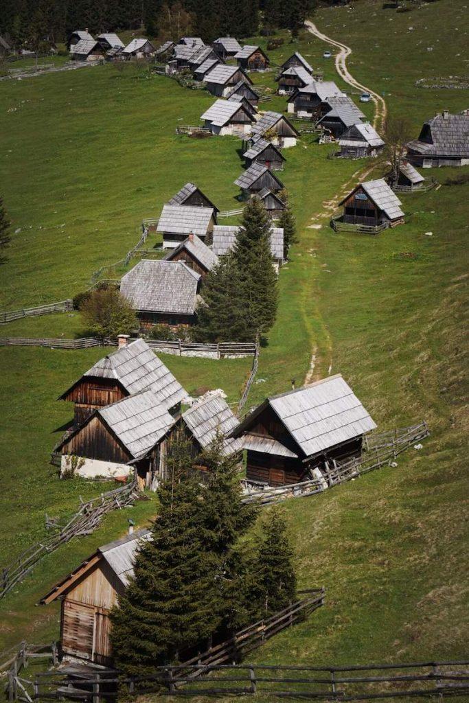 Pokljuka, Zajamniki Mountain Pasture, Slovenia