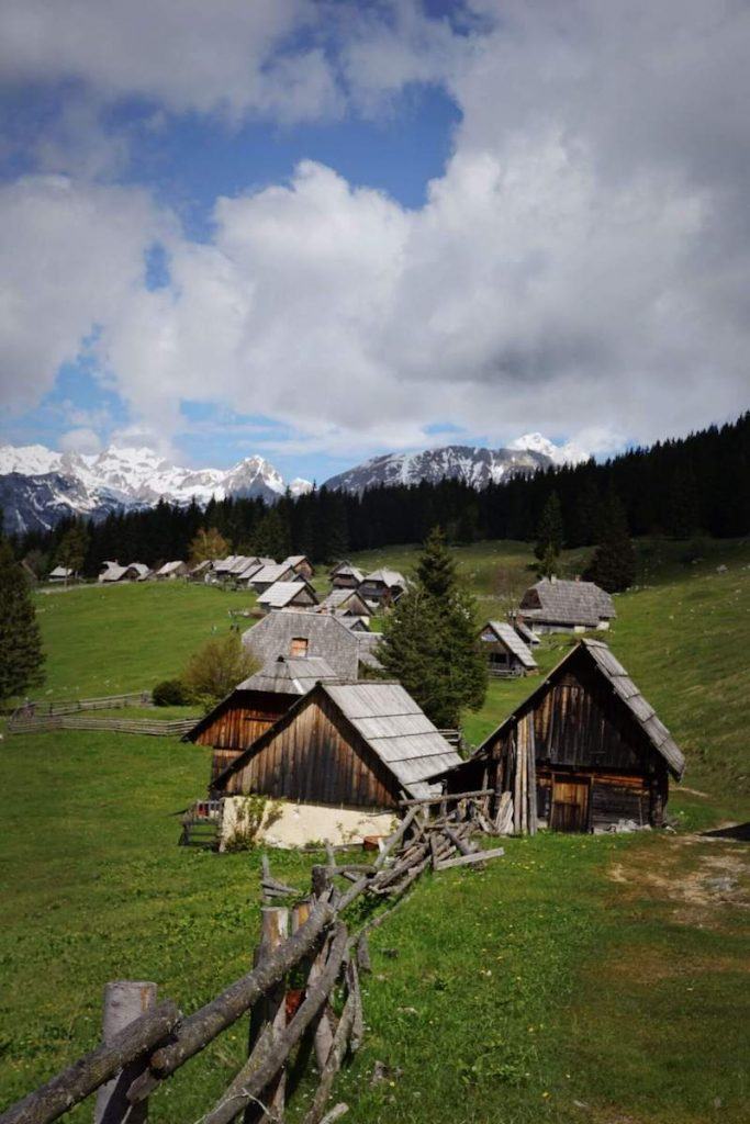 Zajamniki Mountain Pasture, Hiking in the Julian Alps
