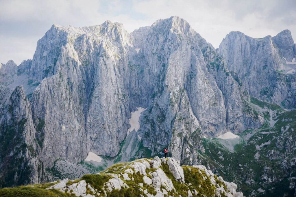 Volusnica day hike in Prokletije National Park, Montenegro
