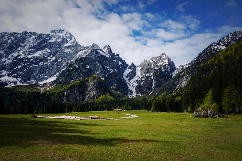 Alpe del Lago, Fusine Lakes, Julian Alps, Italy