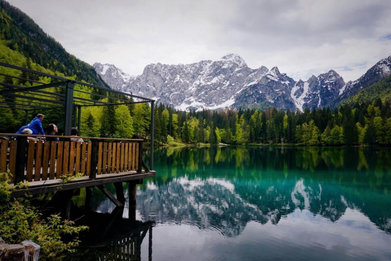 Belvedere, Lower Fusine Lake, Italy