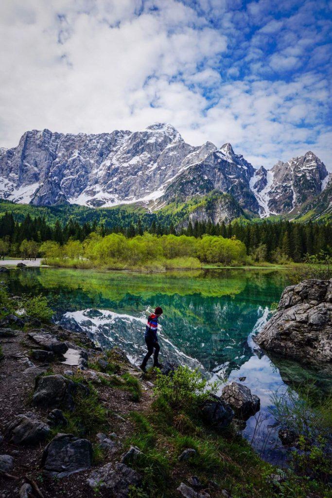 Fusine Lakes, Julian Alps Hiking Trails