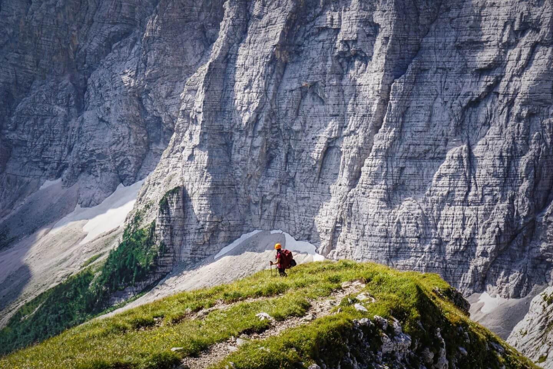 Julian Alps hut to hut hike, Slovenia
