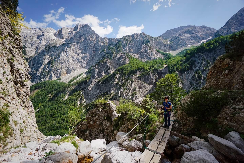 Rinka to Okrešlj, Kamnik-Alps, Logar Valley Hike