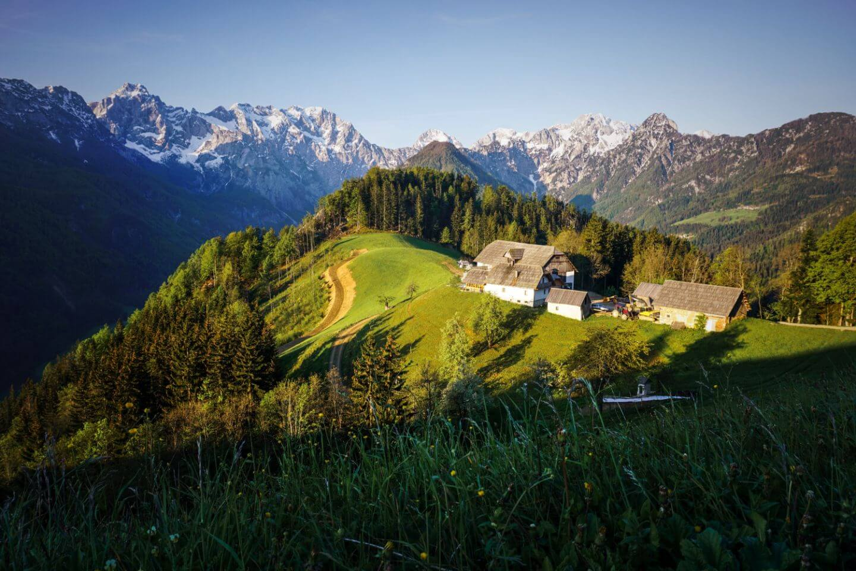 Solčava Panoramic Road, What to do around Logar Valley, Slovenia