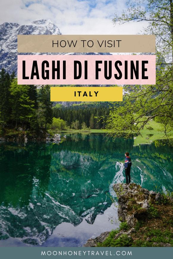 Laghi di Fusine travel guide, Italy