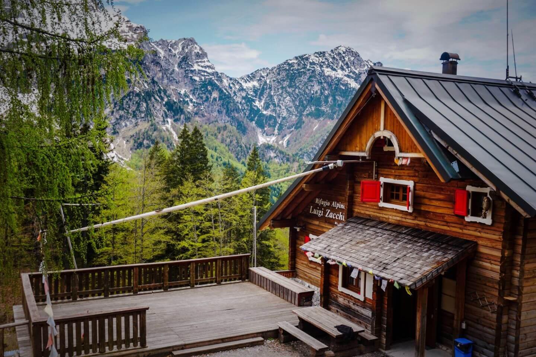 Rifugio Luigi Zacchi, Julian Alps, Italy