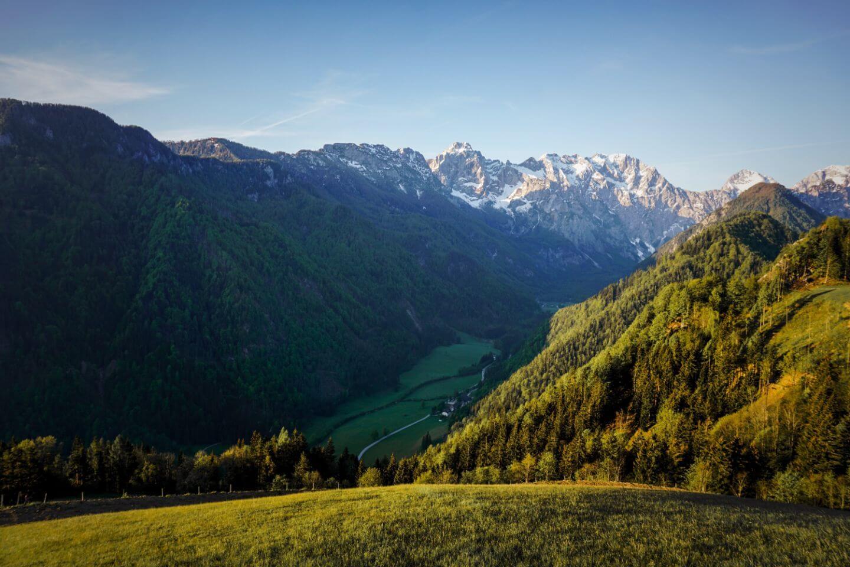Solcava Panoramic Road, Logar Valley Viewpoint - Slovenia Hidden Gems