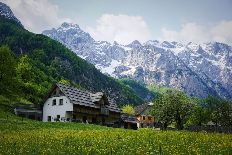 Where to Stay in Logar Valley, Slovenia (Logarska Dolina): Lenar Farm