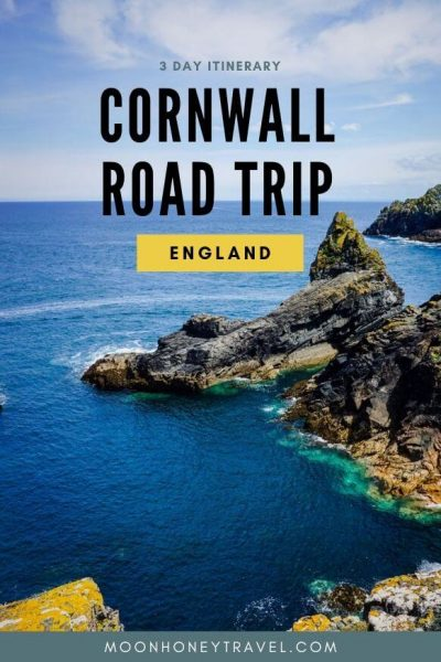 Cornwall Itinerary - 3 Day Road Trip, England
