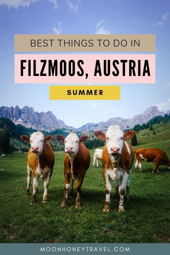Best Things to do in Filzmoos in Summer, Austrian Alps