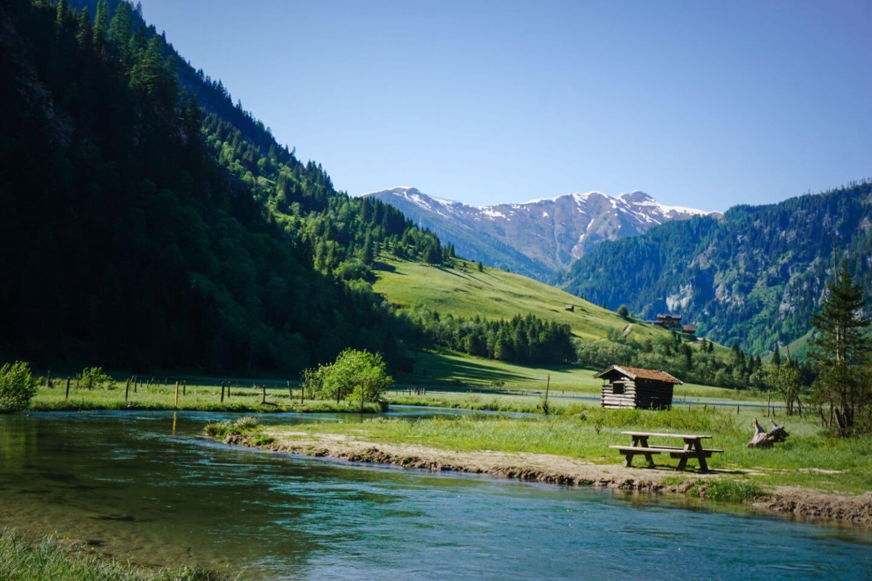 Grossarler Ache, Grossarltal, Österreich