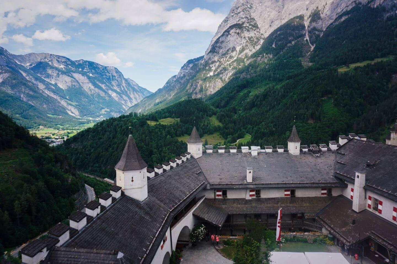 In der Burg Hohenwerfen, Werfen, Salzachtal
