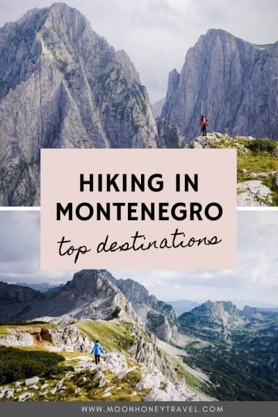 Montenegro Hiking Destinations - Find out where to hike in Montenegro