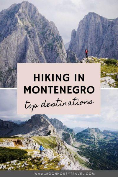 Montenegro Hiking Destinations