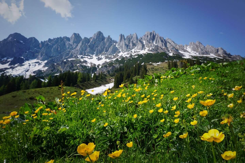 Hiking the Hochkönig Mountains, Austria Itinerary