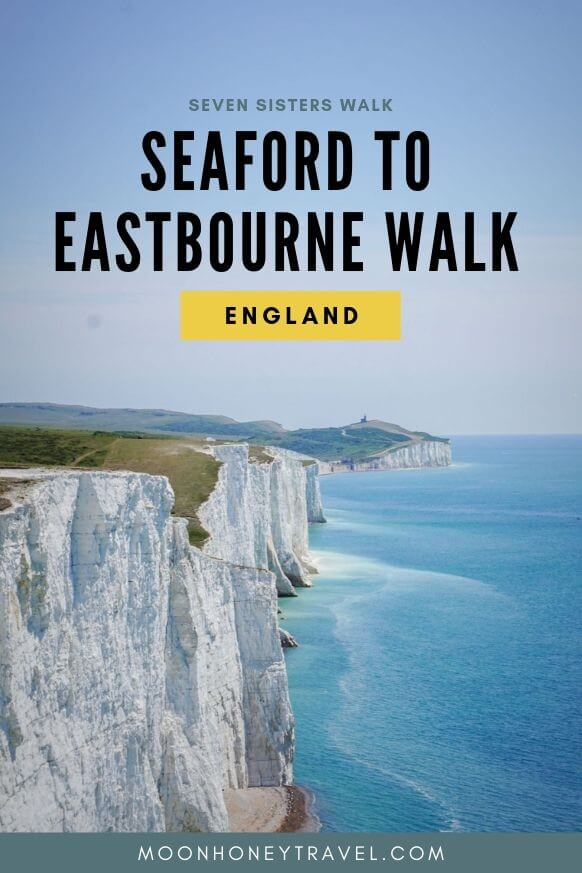 Seven Sisters Cliffs, Seaford to Eastbourne Walk, England