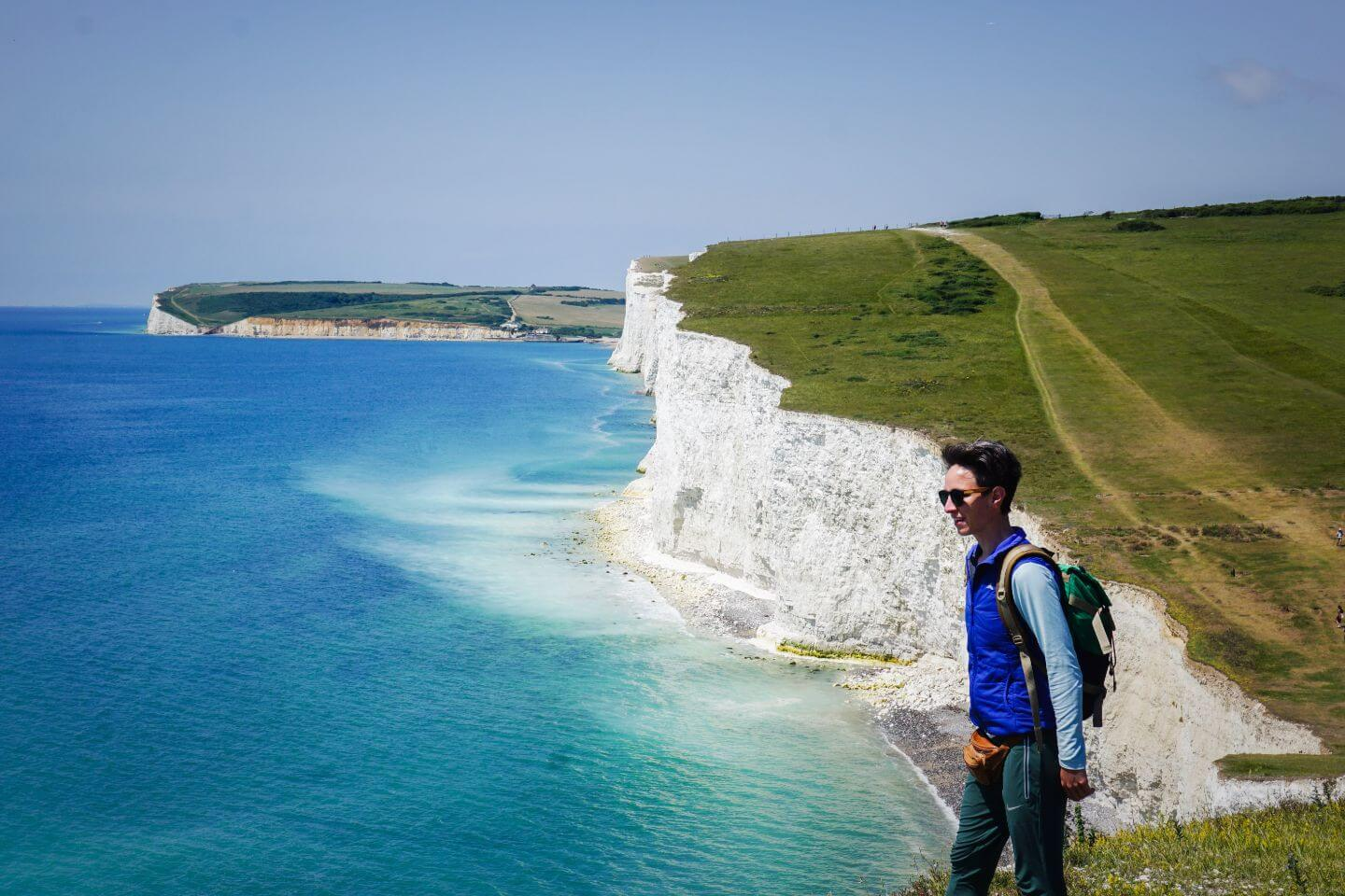 Seaford to Eastbourne walk - Seven Sisters Cliffs Hike