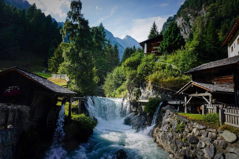Hinterbichl, Virgental, Hohe Tauern, Austria