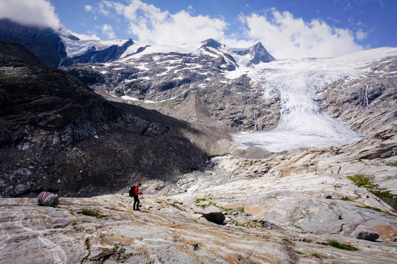 Glacier Lookout, Innergschlöss Glacier Trail, East Tyrol