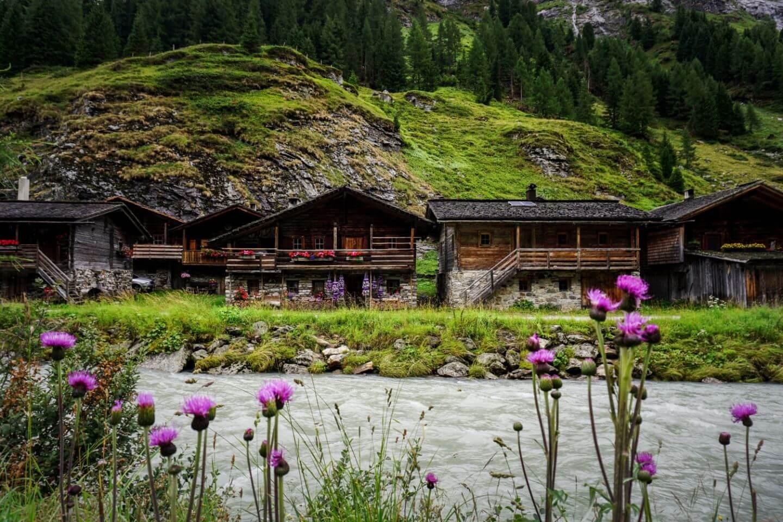 Innergschlöss, Hohe Tauern, Austrian Alps