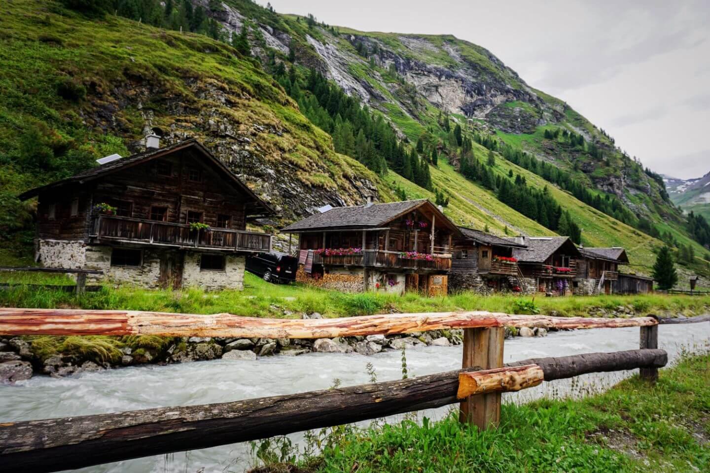 Innergschlöss, Hohe Tauern National Park, East Tyrol, Austria