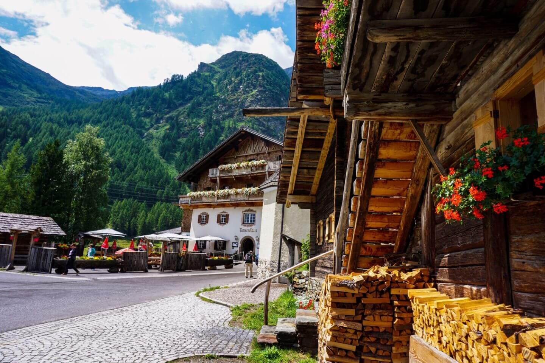 Matreier Tauernhaus, Gschlößtal valley, Hohe Tauern, East Tyrol