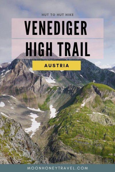 Venediger High Trail - Venediger Höhenweg Trekking Guide, Tyrol, Austria