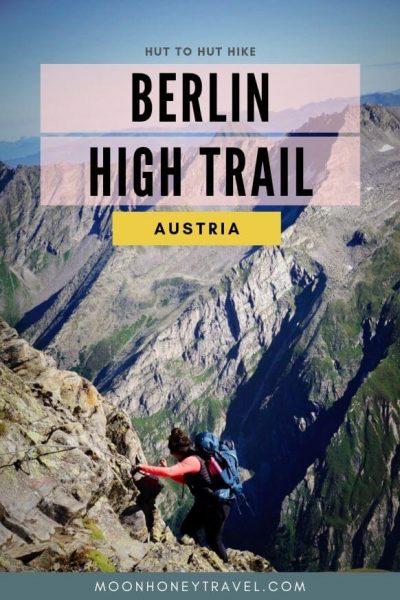 Berlin High Trail - Hut to Hut Hike in Austria