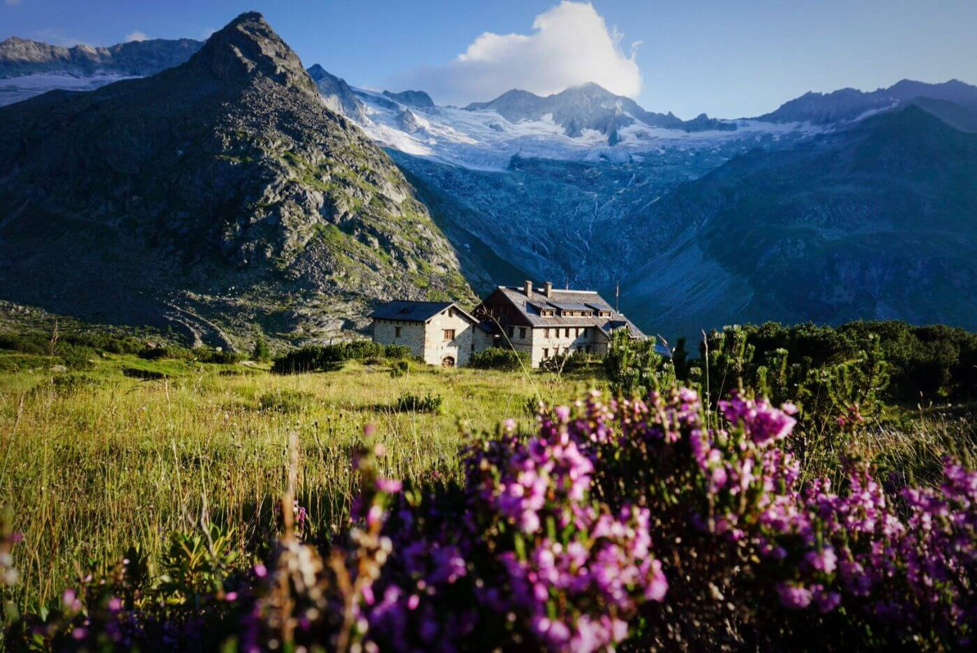 Berliner Hütte, Berlin High Trail trekking guide, Tyrol, Austria