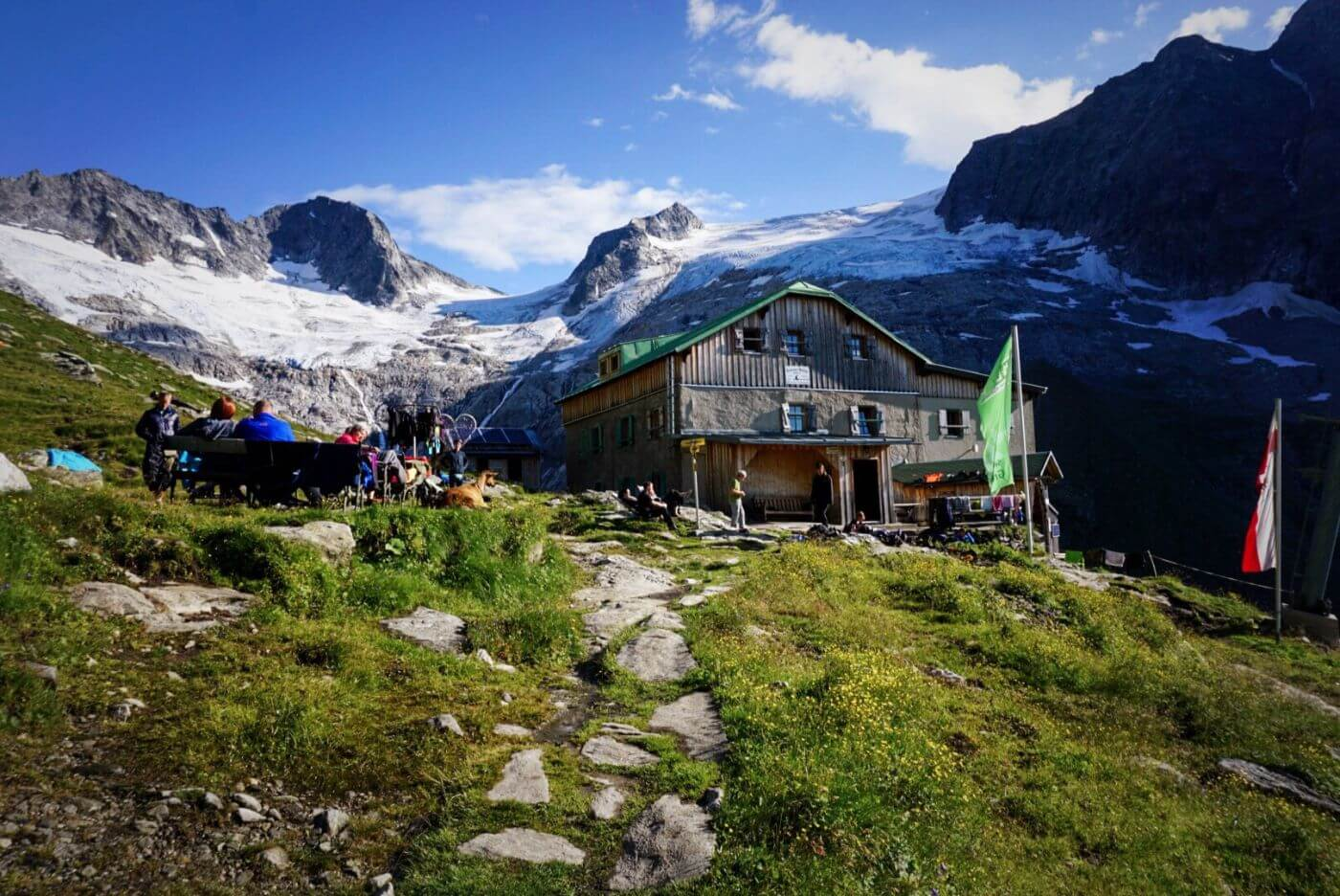 Greizer Hut, Berlin High Trail Hiking Guide (Berliner Höhenweg) - Austrian Alps hut to hut hike
