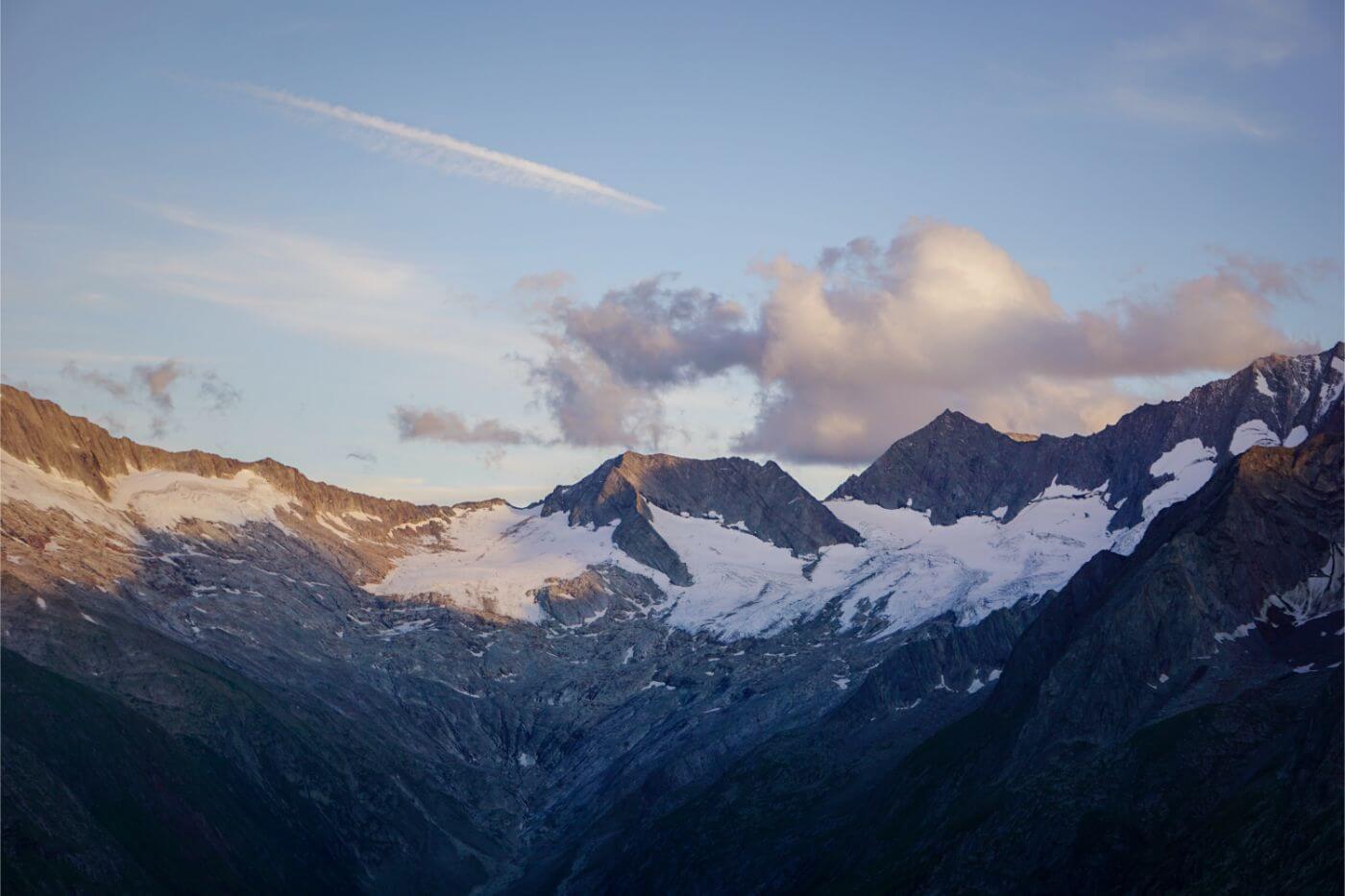 Grosser Möseler and Breitnock peaks, Zillertal Alps - Berlin High Trail trekking guide