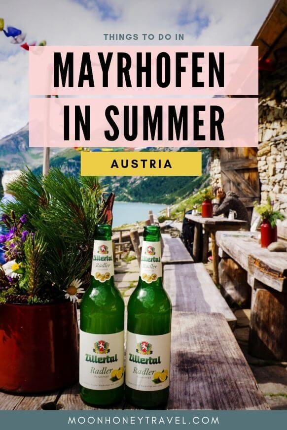 Mayrhofen in Summer - Zillertal, Austrian Alps