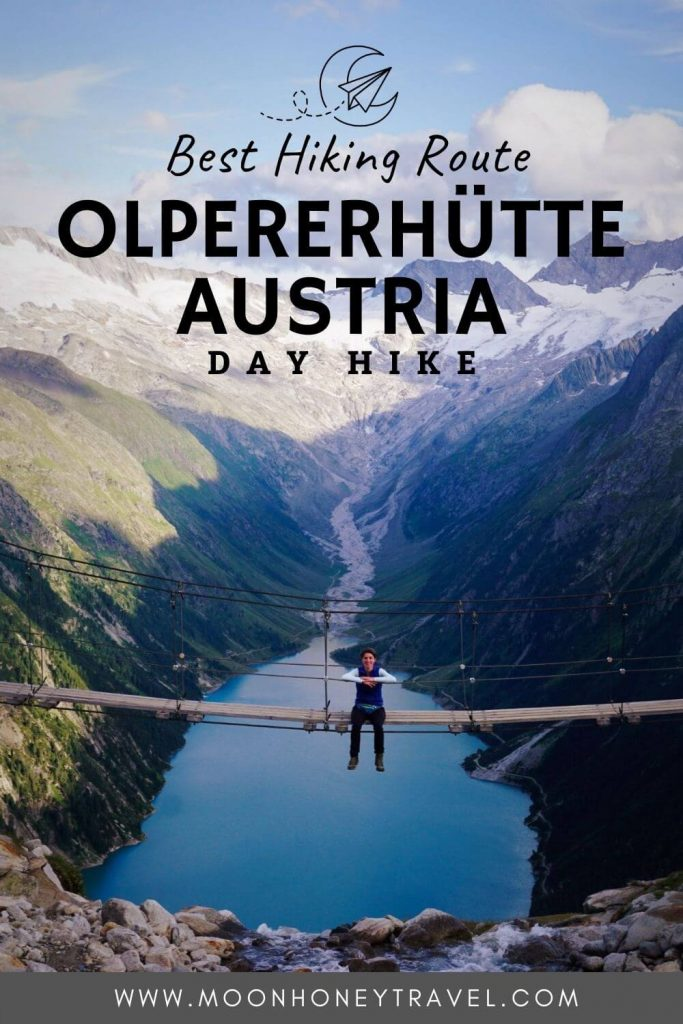 How to get to the Olperer Mountain Hut, Tirol, Austria