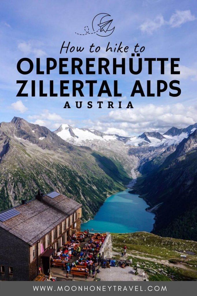 Olpererhütte Day Hike, Tirol, Austria