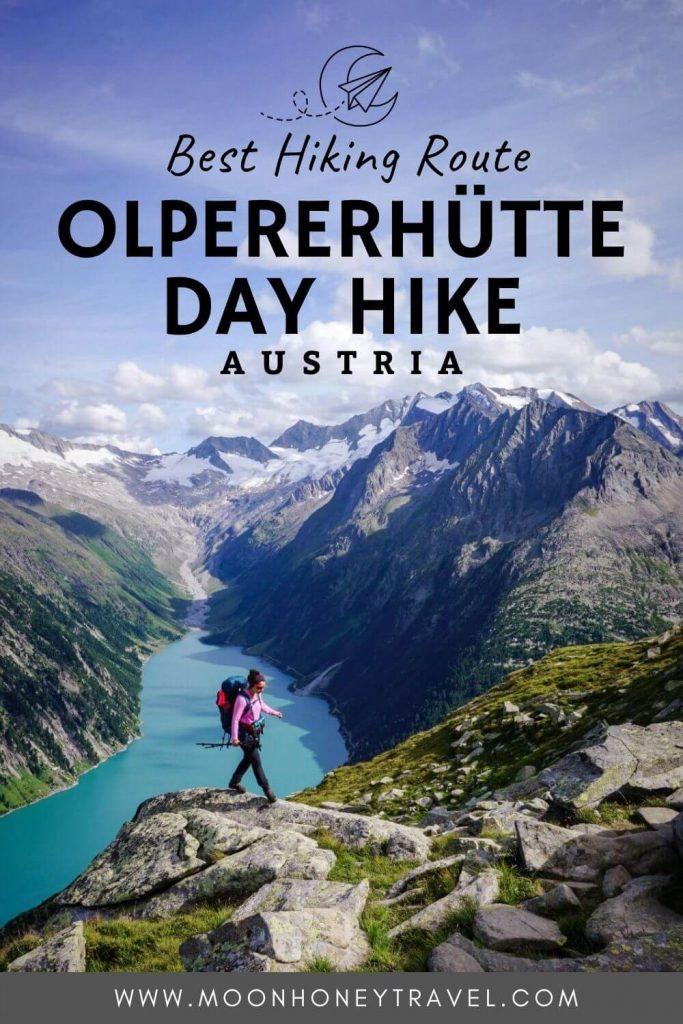 Olpererhütte Trail Guide, Austrian Alps