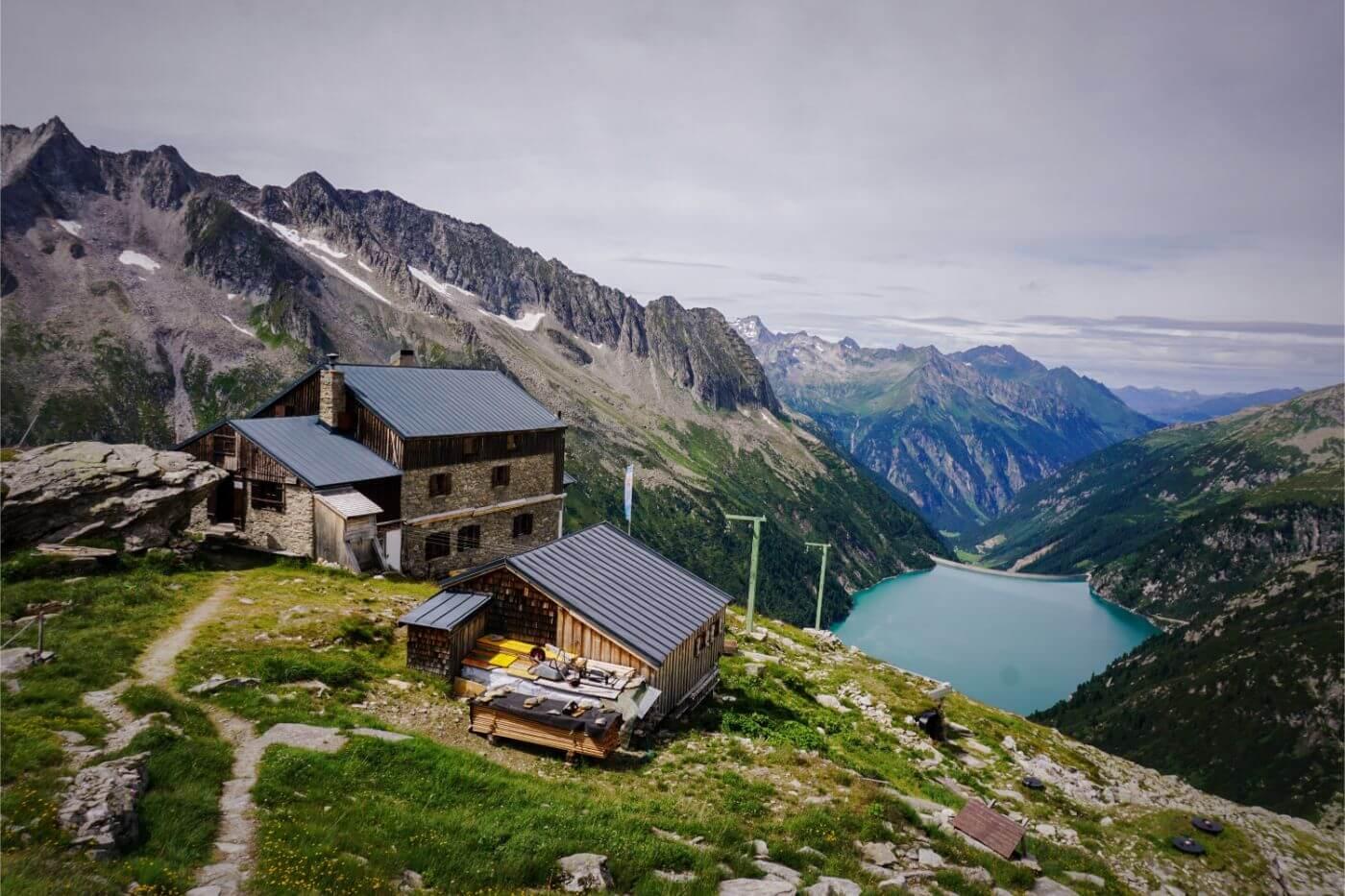 Plauener Mountain Hut Hike, Mayrhofen in Summer, Austria