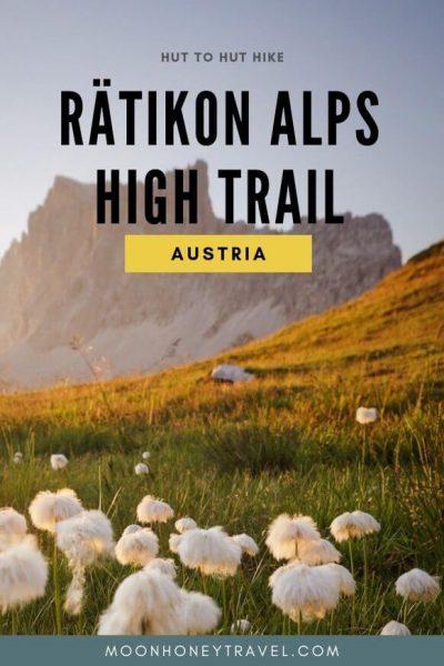Rätikon Höhenweg Mehrtagestour in Vorarlberg Österreich