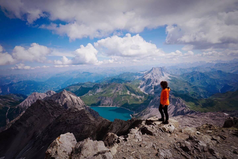Schesaplana Summit, Rätikon Alps - A guide to visiting Lünersee Lake in Austria