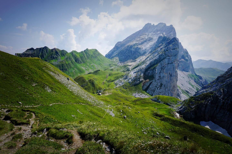 Hiking in the Austrian Alps - Rätikon Alps