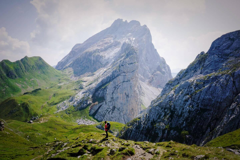 Schweizer Tor, Rätikon Alps, Austria - Hut to Hut Hike around Lünersee